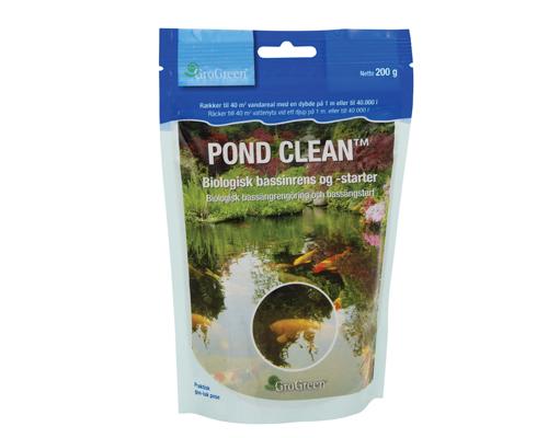 Pond Clean</br> – Biologisk bassängrengöring och bassängstart